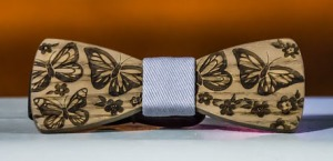 papillon legno vintage